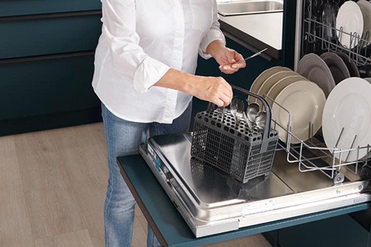 passende Arbeitshöhe der Spülmaschine