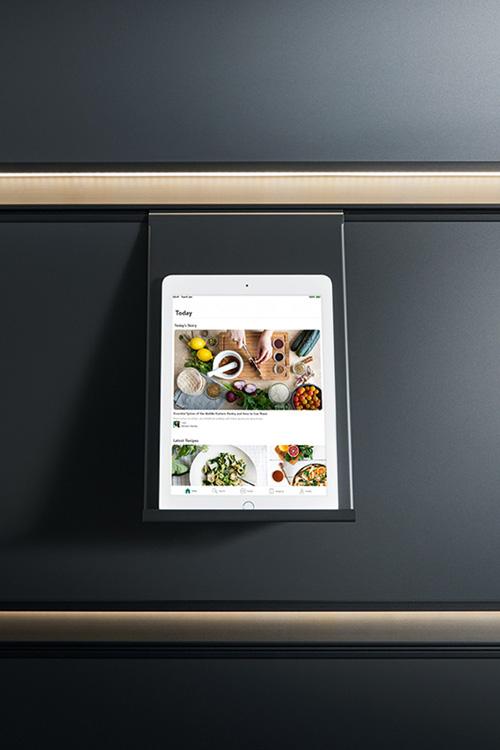 Panel-System für Tablet-Halterung