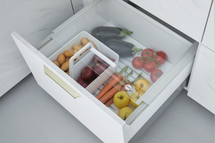 Pantry-Box zur Aufbewahrung von Obst und Gemüse