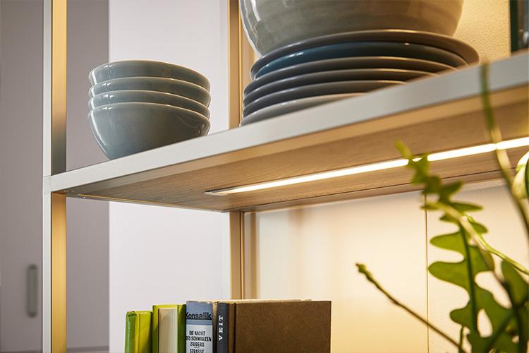 LED-Lichtband für Regale